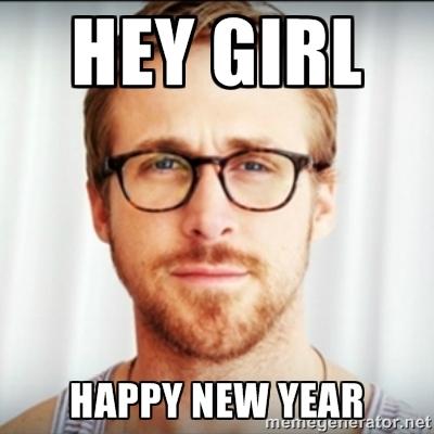 Ryan Goslng New Year