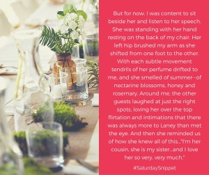 Saturday Snippet-3